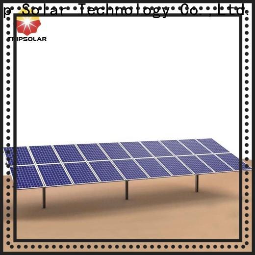 TripSolar Best solar ground mount system company