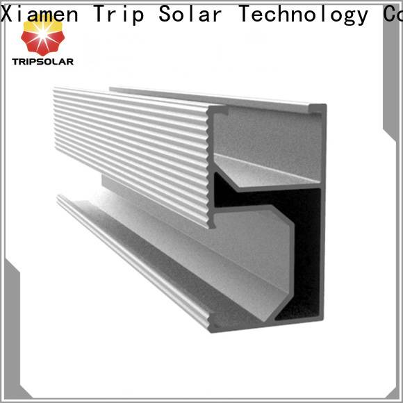TripSolar frameless solar panel mounting clamps for business