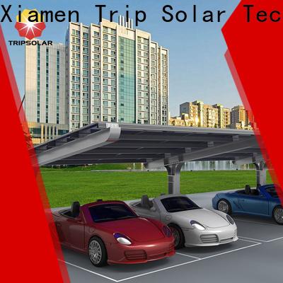 TripSolar solar parking canopy Suppliers
