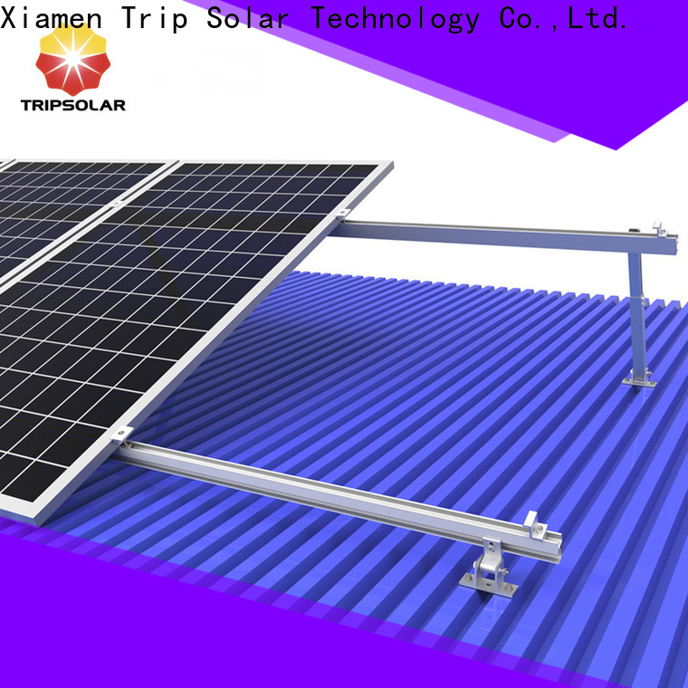 TripSolar Latest mounting solar panels on tile roof factory