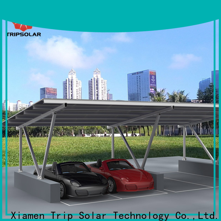 TripSolar solar panel carport company