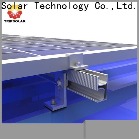 New solar panel roof mount kit company