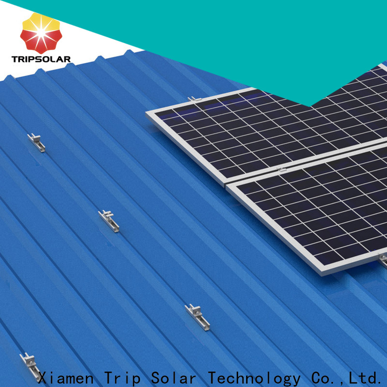TripSolar Wholesale flat roof solar panel mounting factory