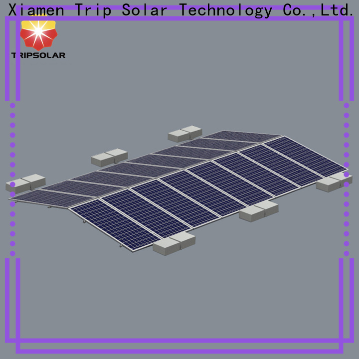 TripSolar New solar panel mounting brackets for metal roof factory