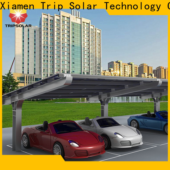 Custom solar canopy factory