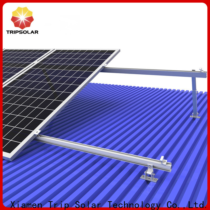 TripSolar Top solar panel roof mounts for business