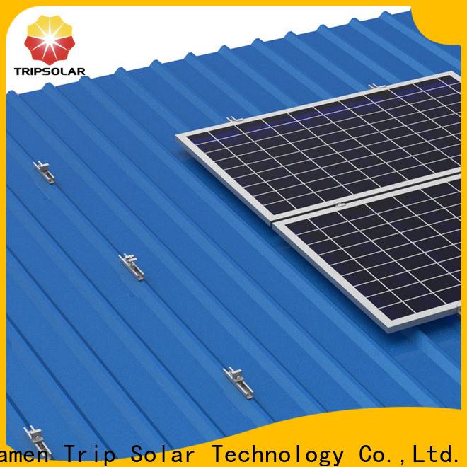 TripSolar Top solar panel rail mounting kit company