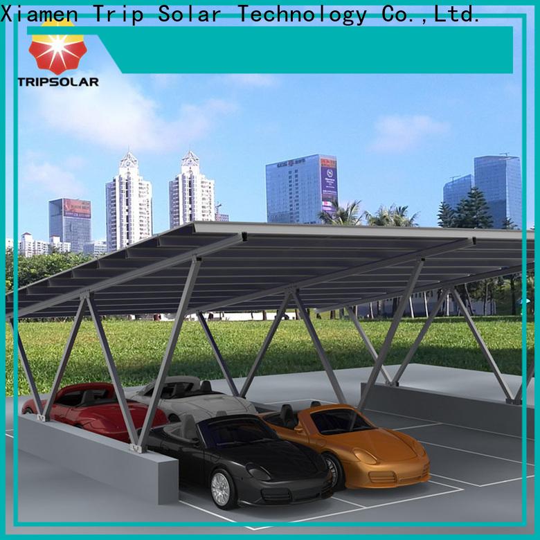 Top solar canopy factory
