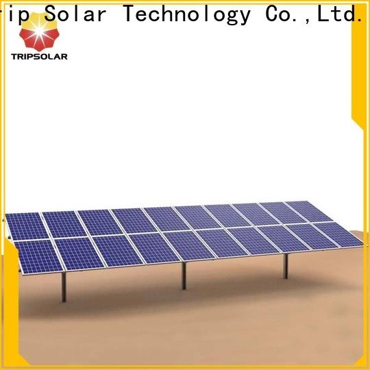 TripSolar Latest solar ground mount company