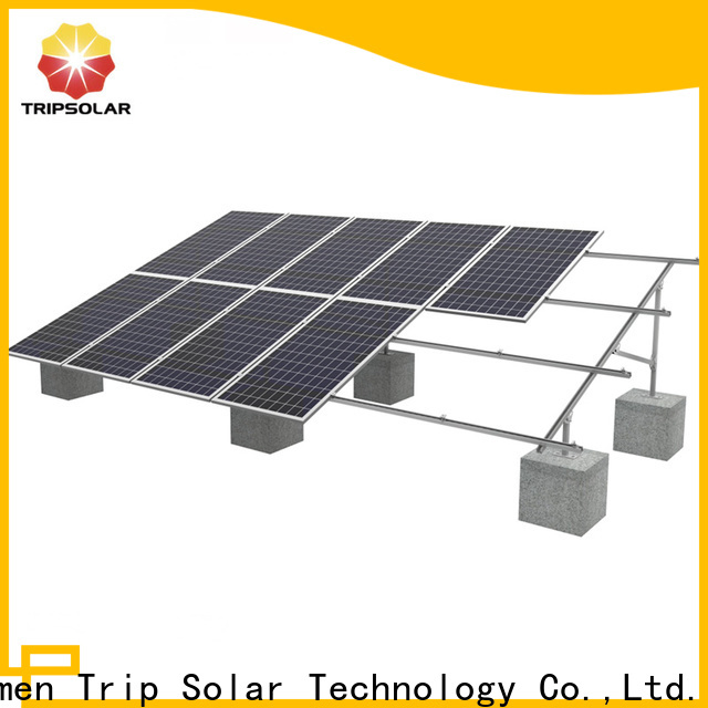 TripSolar New ballasted ground mount solar racking Suppliers