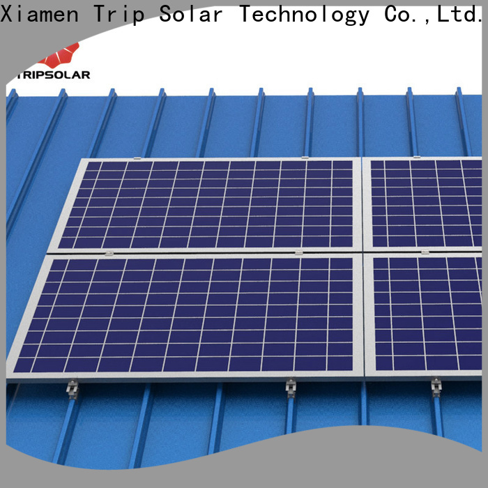 TripSolar Top solar panel tile roof bracket company