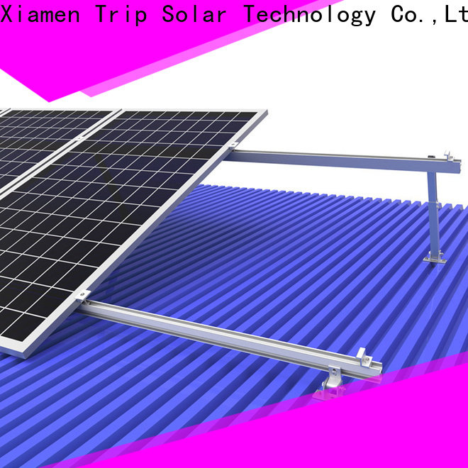 TripSolar Top solar panel roof mounting hardware manufacturers