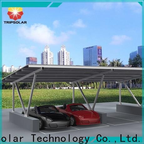 TripSolar Best solar carport structure Suppliers