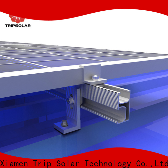 TripSolar roof solar panel mounting system for business