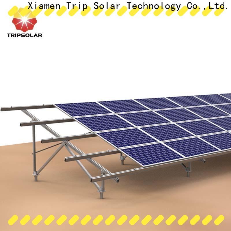 TripSolar Latest solar ground mount system company