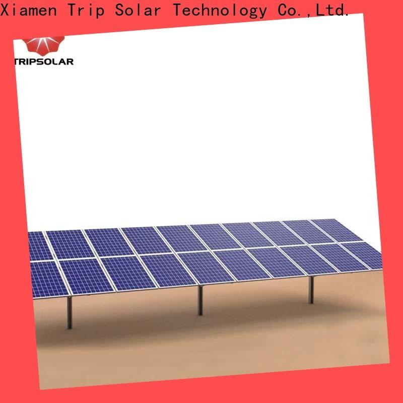 Custom ground mount for solar Supply