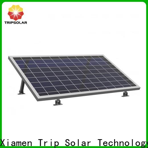 TripSolar Custom adjustable solar panel mounting bracket factory