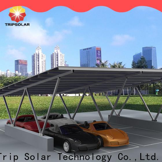 Top solar panel carport company