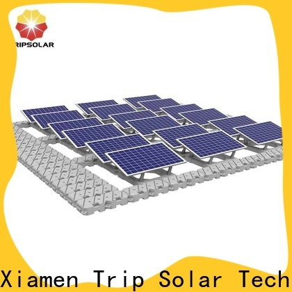 Custom floating solar structure factory