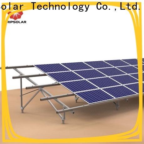 New ground mount solar racking company